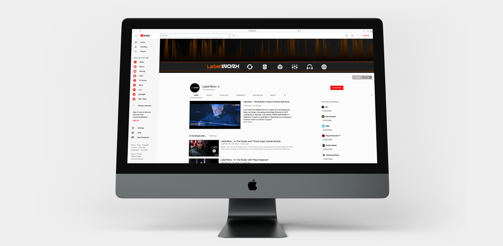 Complete YouTube & SoundCloud profile management