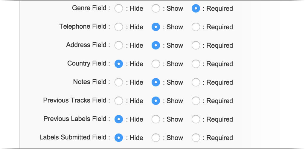 Customize your DemoBox form with only the fields you really need