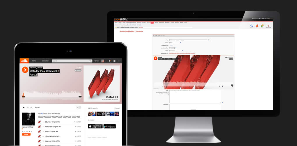 Updating your SoundCloud page with fresh audio clips is now fast and efficient