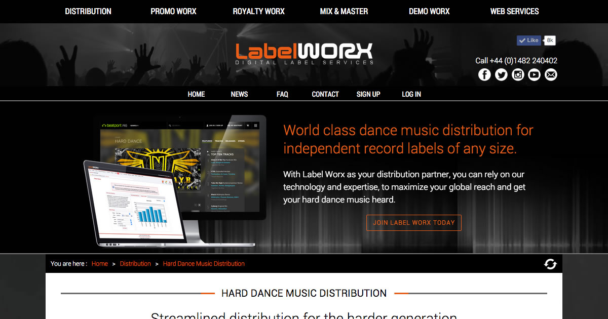 Hard dance hard house hardstyle nrg music distribution for House music labels