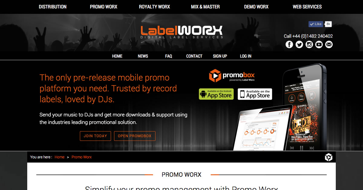 Promo Worx - Digital Music Promotion | Label Worx