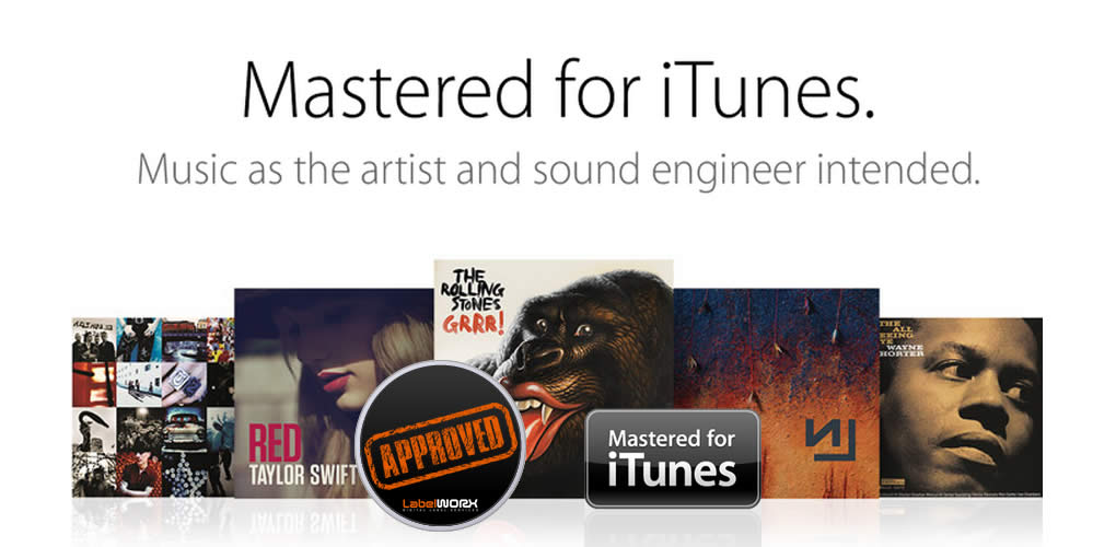 We are an accredited mastering house for Mastered for iTunes
