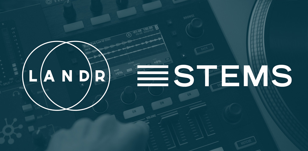 Master STEMS instantly with LANDR