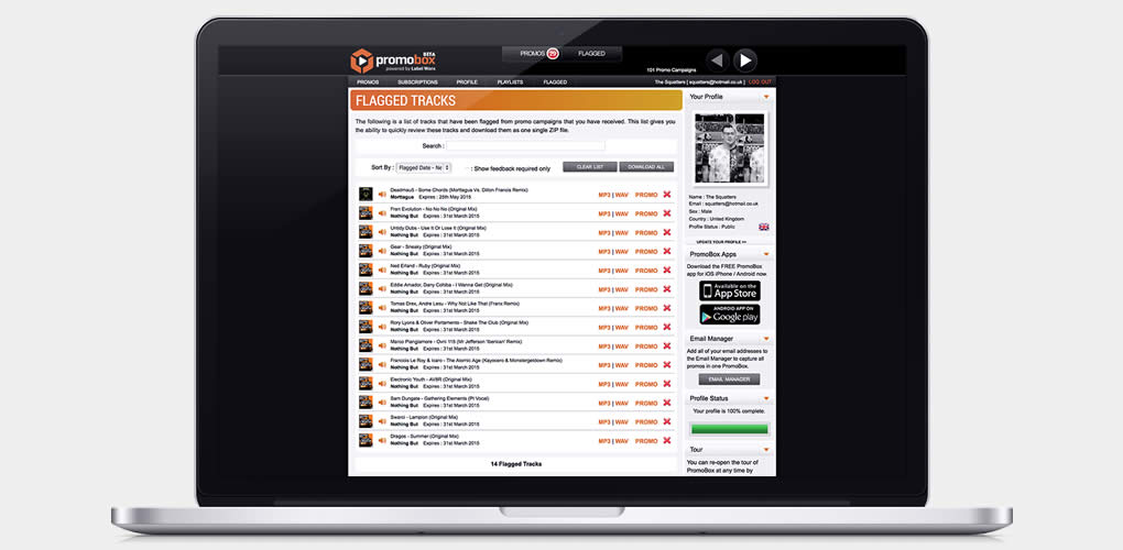 Our tools & features empower DJs to review and respond to more promos